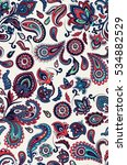 seamless paisley pattern.... | Shutterstock .eps vector #534882529
