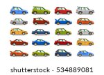 big set of cars. collection... | Shutterstock .eps vector #534889081
