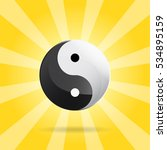 Yin Yang Spiritual Sign On...