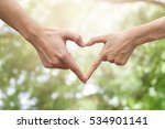 close up male and female hands... | Shutterstock . vector #534901141