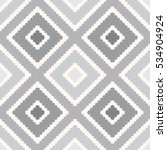 seamless  pattern.  grey... | Shutterstock .eps vector #534904924