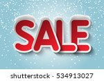 sale   vector background with... | Shutterstock .eps vector #534913027