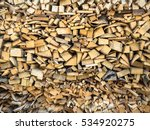Picture Of The Firewood Stack...