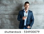 businessman portrait.... | Shutterstock . vector #534930079