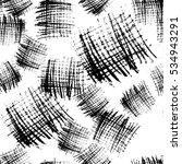 vector monochrome abstract... | Shutterstock .eps vector #534943291
