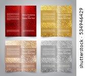 brochure design templates set... | Shutterstock .eps vector #534946429