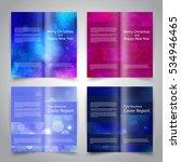 brochure design templates set...   Shutterstock .eps vector #534946465