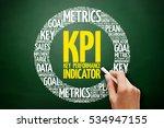 kpi   key performance indicator ... | Shutterstock . vector #534947155
