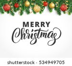vector holiday background with... | Shutterstock .eps vector #534949705