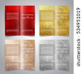 brochure design templates set...   Shutterstock .eps vector #534951019