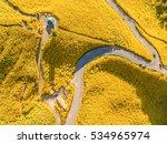 Aerial View Scenery Of Doi Mae...