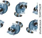 seamless watercolor pattern...   Shutterstock . vector #534970639