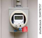 modern smart grid residential... | Shutterstock . vector #534978757