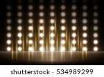 lighted stage background that... | Shutterstock .eps vector #534989299