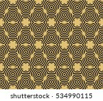 damask floral seamless pattern... | Shutterstock .eps vector #534990115