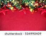 christmas background with xmas... | Shutterstock . vector #534990409
