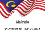 vector ilustration of malaysia... | Shutterstock .eps vector #534991015