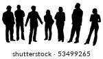 man giving a presentation | Shutterstock . vector #53499265