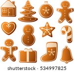 vector illustration of various... | Shutterstock .eps vector #534997825
