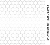hexagonal grid design vector... | Shutterstock .eps vector #535013965