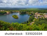 view from above at grand bassin ... | Shutterstock . vector #535020334