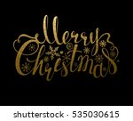 holiday banner with decoration. ... | Shutterstock .eps vector #535030615