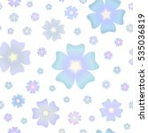 Seamless Pattern Of Pastel...