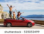 group of happy young people... | Shutterstock . vector #535053499