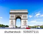 paris  france   august 28  2016 ... | Shutterstock . vector #535057111