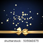 blue festive background with... | Shutterstock .eps vector #535060375