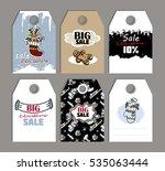 vector illustration christmas.... | Shutterstock .eps vector #535063444
