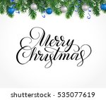 vector holiday background with... | Shutterstock .eps vector #535077619