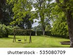 image of childrens swing set in ... | Shutterstock . vector #535080709
