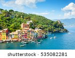 beautiful sea coast with... | Shutterstock . vector #535082281