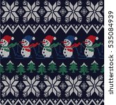 nordic pattern | Shutterstock .eps vector #535084939