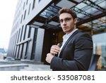 from below image of business... | Shutterstock . vector #535087081