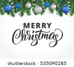 vector holiday background with... | Shutterstock .eps vector #535090285