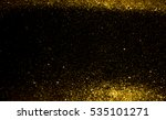 gold and white bokeh lights... | Shutterstock . vector #535101271