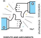 arguments vector icon | Shutterstock .eps vector #535106404