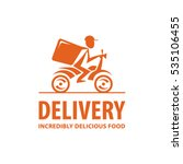fast and free delivery. vector... | Shutterstock .eps vector #535106455