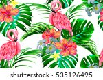 beautiful seamless vector... | Shutterstock .eps vector #535126495