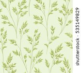 floral pattern with branch and... | Shutterstock .eps vector #535149829