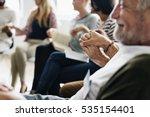 networking seminar meet ups... | Shutterstock . vector #535154401