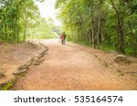two boys are walking to see... | Shutterstock . vector #535164574