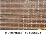 brick building entrance view | Shutterstock . vector #535205875