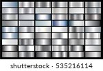 silver gradient background... | Shutterstock .eps vector #535216114