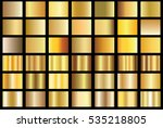 gold gradient background vector ... | Shutterstock .eps vector #535218805