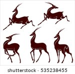 Set Antelope Image In An...