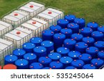 Oil Barrels Or Chemical Drums...