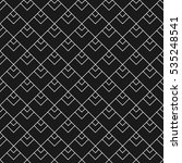 linear seamless pattern with... | Shutterstock . vector #535248541